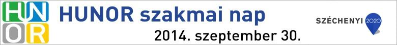 HUNOR szakmai nap - 2014.09.30 - Budapest