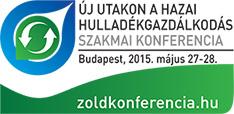 Új utakon a hazai hulladékgazdálkodás - 2015