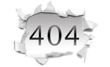 Hiba 404 - az oldal nem található